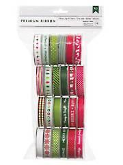 Christmas Premium Ribbon Value Pack 24/pkg