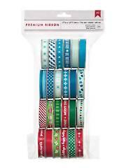 Winter Premium Ribbon Value Pk 24/pkg
