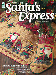 Santa?s Express Quilt Book - Electronic Download