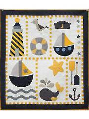 Ahoy Quilt Pattern - Electronic Download RVQ0197
