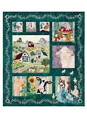 And On That Farm Complete Quilt Pattern Set or Single Blocks