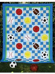 Sports Coverage! Quilt Pattern
