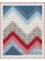 Alpine Village Quilt Pattern