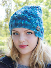 Arctic Swirl Hat Knit Pattern