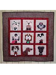 Gone to the Dogs Wall Hanging Pattern