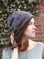 Plum Tree Slouch Hat Knit Pattern