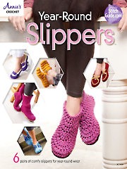 Year-Round Slippers - Electronic Download A871430