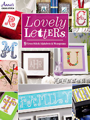 Lovely Letters: 9 Cross-Stitch Alphabets
