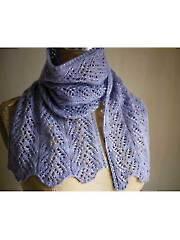 Aria Delicato Scarf Knit Pattern