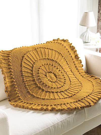 Matelasse Lapghan Knit Pattern