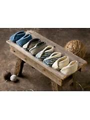 Tiptoe Slippers Knit Pattern