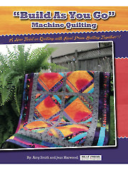 """Build As You Go"" Machine Quilting Book"