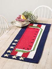A Star Spangled Banner Table Runner Kit