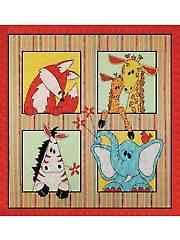 On Safari Quilt Pattern