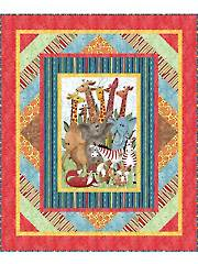 Jungle Party Quilt Pattern - Electronic Download V429921
