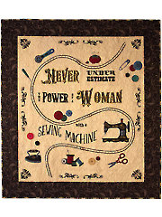 Sew Vintage Quilt Pattern with Embroidery USB