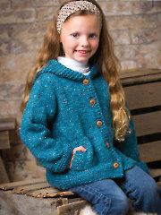 Cadet Cardi Knit Pattern - Electronic Download AK00782