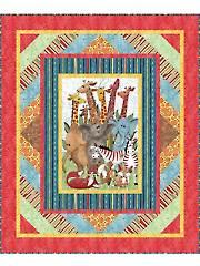 Jungle Party Quilt Kit