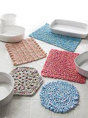 Easy Crochet Hot Pads