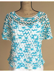 Oceanside Crochet Top - Electronic Download RAC1355