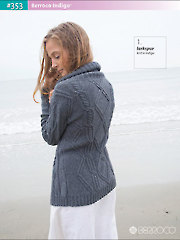 Inspired by the colors, patterns and textiles of the Southwest, this book holds a collection of casual garments and accessories that are both rustic and sophisticated. From cardigans and a tank to shawls and a purse, your wardrobe will be complete when you stitch up each of these 8 patterns using Berroco's Indigo yarn collection. Versatile and easy to stitch with, Indigo's mostly cotton fibers can take a beating without losing the lovely quality of each stitch, so each project will look like new every time it's worn. 22 pgs.