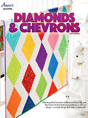 Diamonds & Chevrons Baby Quilt Pattern