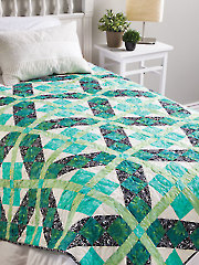 Square Upon Square Quilt Pattern