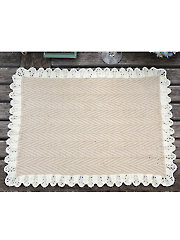 Heirloom Placemats Knit Pattern
