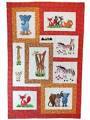 Stitchin' a Safari Embroidery CD