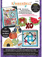 Kimberbell Cuties Companion Embroidery CD