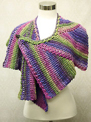 Star Zag Crochet Shawl
