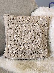Matelasse Crochet Pillow - Electronic Download