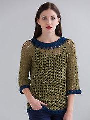 Baltimore Crochet Pullover