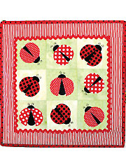 Cute As A Bug Wall Hanging Pattern