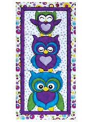 Stack Of Owls Quilt Magic Kit