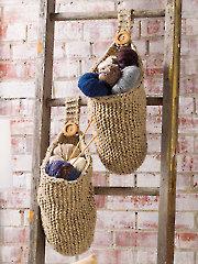 Happy Baskets Knit Pattern