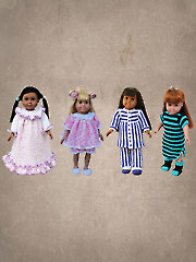 "Slumber Party for 18"" Dolls"