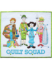 Quilt Squad Laser-Cut Wall Hanging Kit