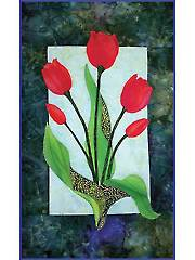 Tulips Laser-Cut Wall Hanging Kit