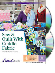 Sew & Quilt with Cuddle Fabric Class DVD