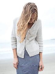 Prickly Poppy Cardigan Knit Pattern 707512