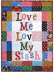 Love My Stash Wall Hanging Pattern