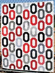 O-Strip Quilt Pattern