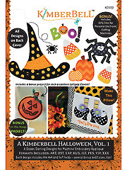 A Kimberbell Halloween, Volume 1 Embroidery CD