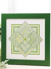 Viviana Cross Stitch Pattern