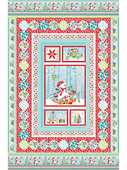 Frosty Forest Quilt Kit