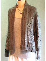 Lovesee Road Cardigan Knit Pattern - Electronic Download A707516