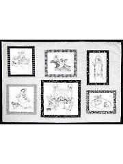 Ghost Life Blackwork Quilt Pattern