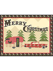 Merry Trails Wall Hanging Pattern