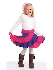 Boutique Spiral Skirt